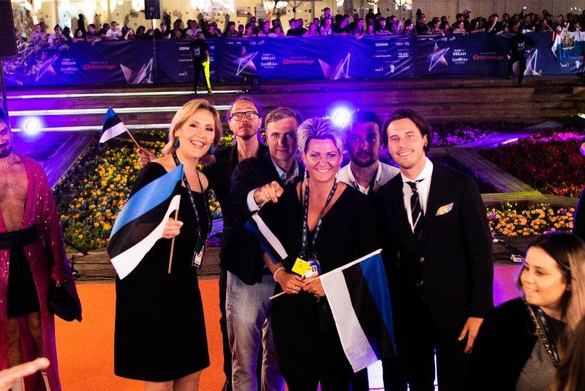 Tomi Rahula Eurovisioni žürii poolfinaalist: kaameramehed panid natuke puusse