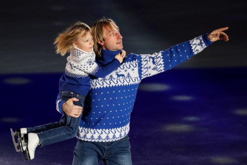 SUUND TIPPU! Jevgeni Pljuštšenko kasvatab kuueaastasest pojast olümpiatšempionit