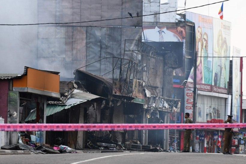 Sri Lanka pealinna lähistel kehtib vägivallalaine tõttu komandanditund