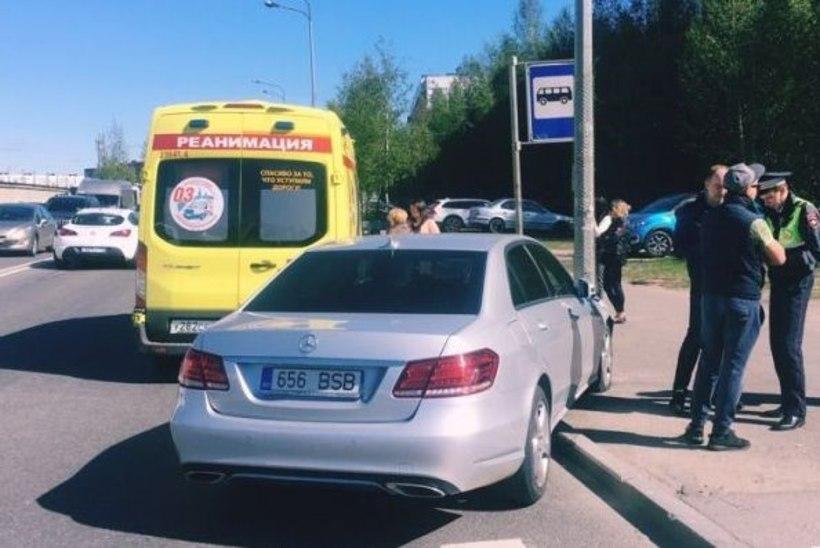 В Петербурге автомобиль с эстонскими номерами сбил ребенка
