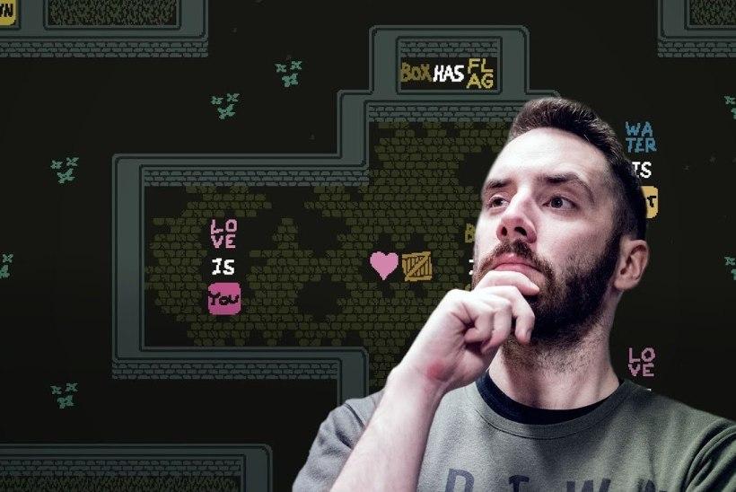 """VIDEO   """"Baba is You"""" on vaieldamatult 21. sajandi üks parimatest nuputamismängudest"""