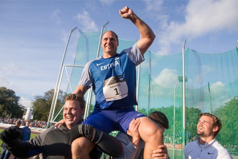 VIDEO | JÕUDU KUI KARUL: Gerd Kanter püstitas hooaja tippmargi