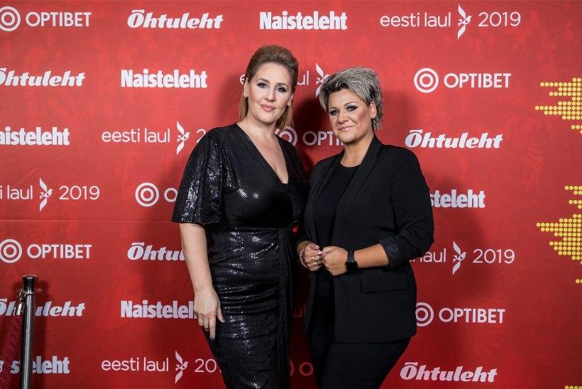 Eurovisioni taustalauljad Vilgats ja Oja: enne lavaleminekut tegime energiaringi