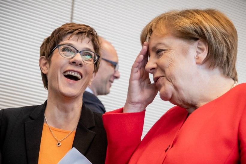 KUULUJUTUKATEL PODISEB: kas Angela Merkel kolib Berliinist Brüsselisse?