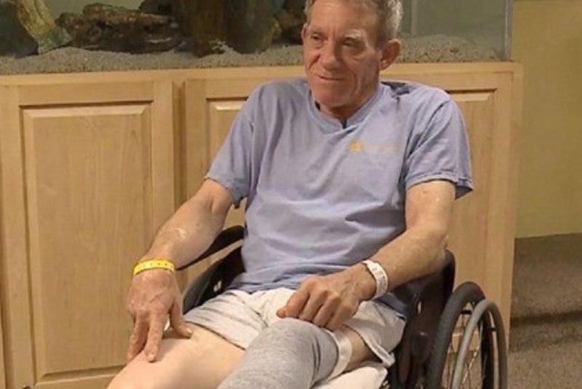 VAPPER MEES: farmer amputeeris oma jala taskunoaga