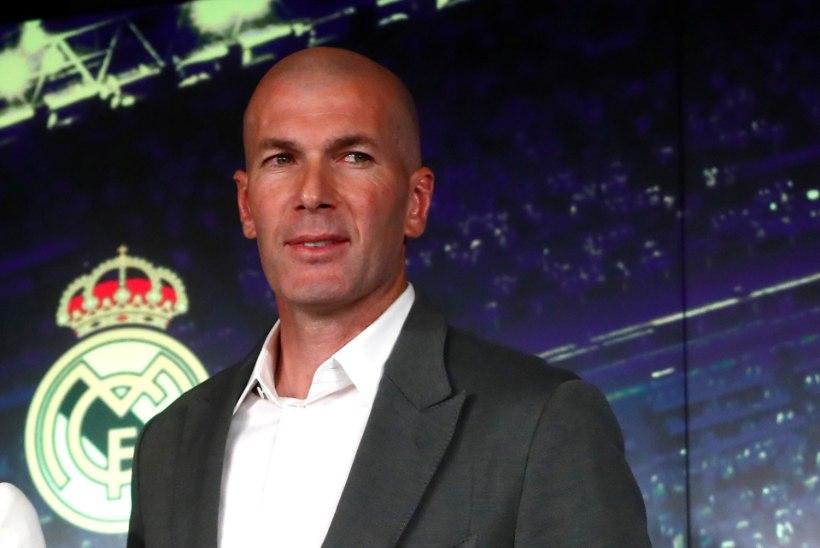 Zinedine Zidane teeb Realis suurpuhastuse: 13 mängijale öeldi, et nende teeneid enam ei vajata