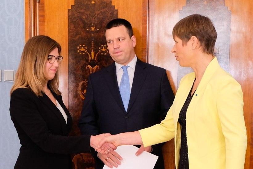 FOTOD | President Kaljulaid nimetas minister Kingo ametisse