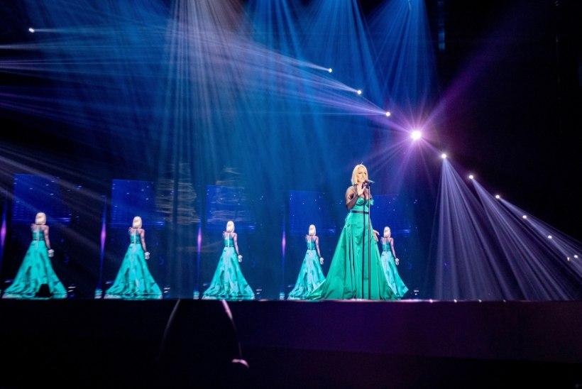 Leia kolm erinevust: Venemaa ja Põhja-Makedoonia Eurovisioni lavakujundused on nagu kaks tilka vett