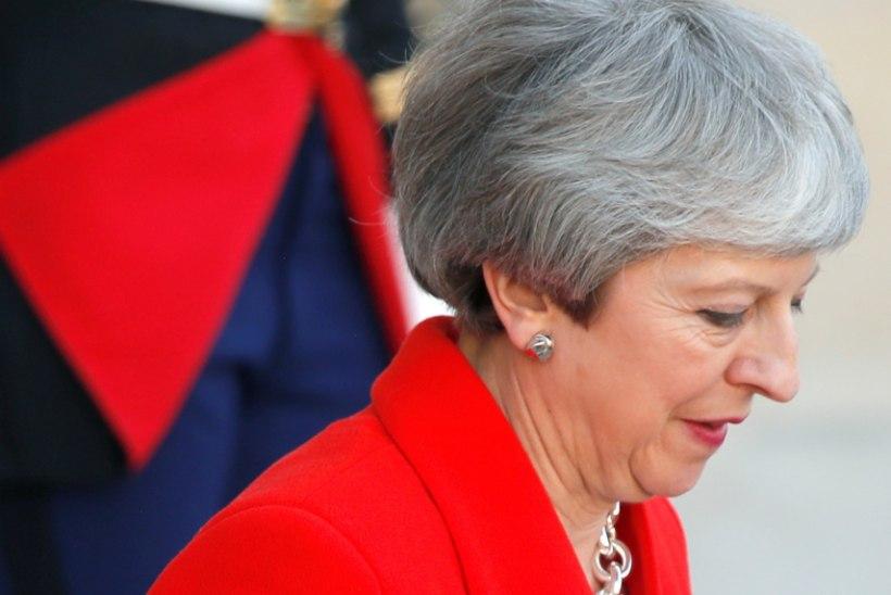 Theresa May peab väidetavalt ametist lahkumise plaani