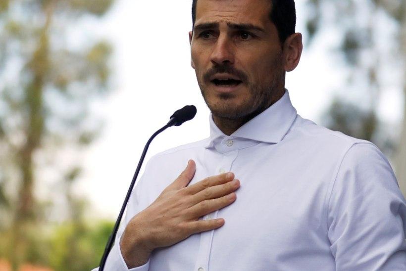 Portugali ajaleht: südameinfarkt lõpetas Iker Casillase karjääri