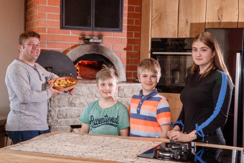 """Kokk ja kolme lapse isa Rain Käärst: """"Söögiparadiisi siin majas küll ei ole!"""""""
