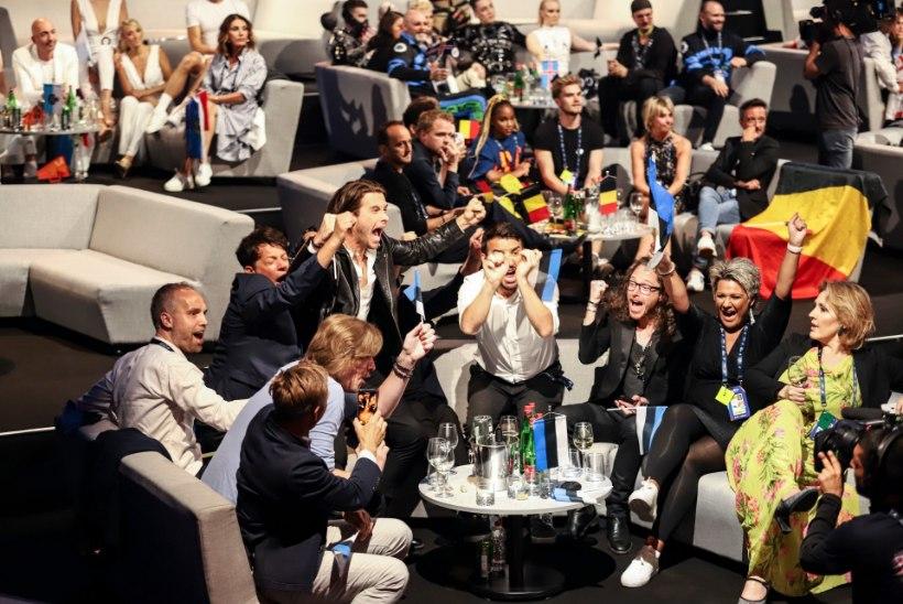 FOTO | Just sellised emotsioonid valdasid Eesti delegatsiooni poolfinaalist edasi pääsedes