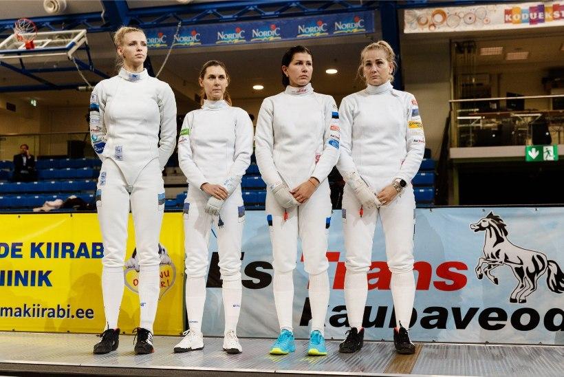 Eesti epeenaised langesid Dubai MK-etapil veerandfinaalis, seejärel kaotati ka Venemaale