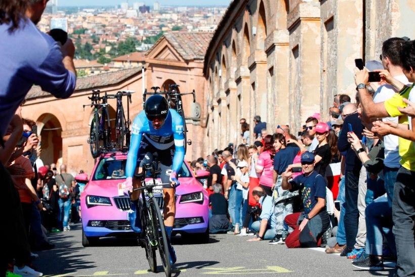 Tanel Kangert tegi Itaalia velotuuril tubli tulemuse