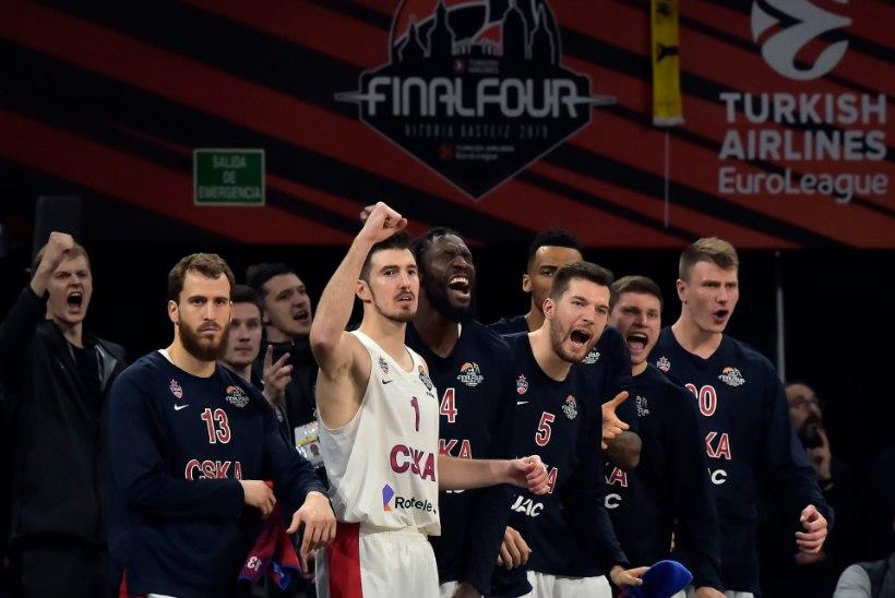 Venelaste pidu! Euroliiga võitis Moskva CSKA
