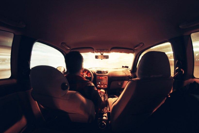 Mida kiiremini sõidad, seda piiratum on roolis su nägemisväli