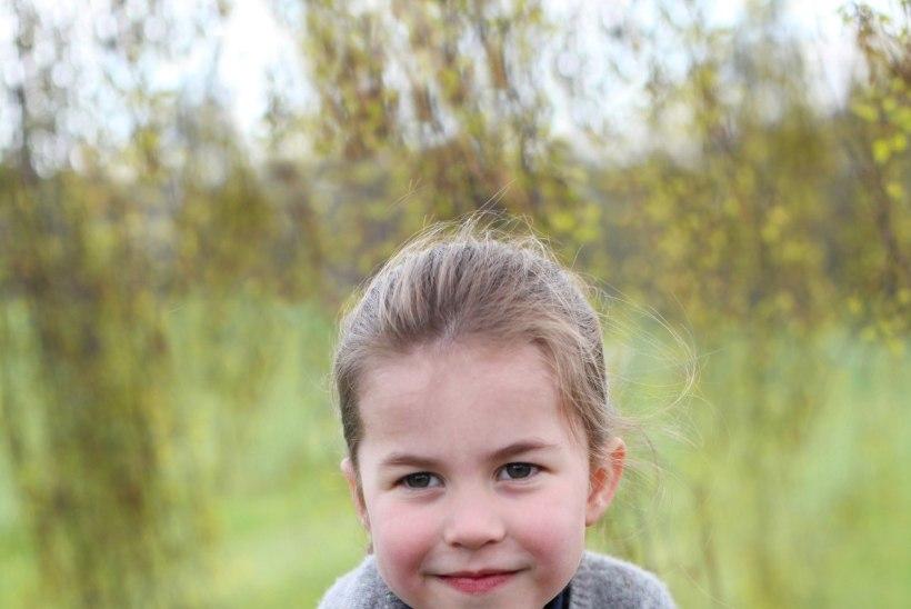 NUNNUD FOTOD | Briti printsess Charlotte tähistab neljandat sünnipäeva