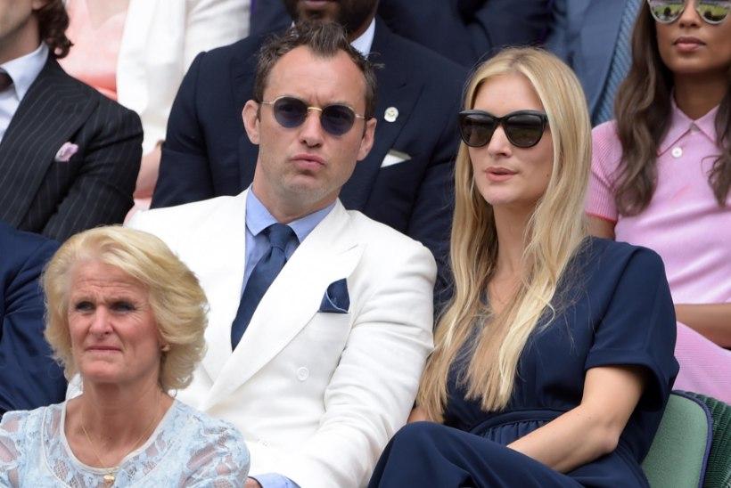 Näitleja Jude Law abiellus salajasel tseremoonial oma elukaaslasega