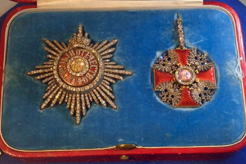 MINEVIKUHETK | 21. mai: Katariina I lõi Püha Aleksander Nevski ordeni