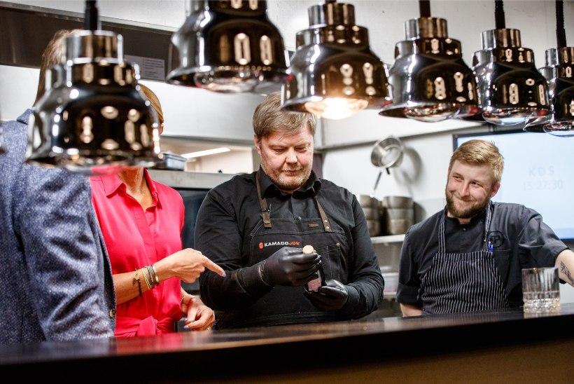 HOMMIKUSÖÖK STAARIGA | Margus Prangel viskas parimad palad otse hõõguvatele sütele