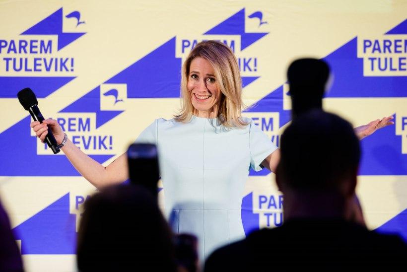 Rahva seas on kõige populaarsem partei Reformierakond