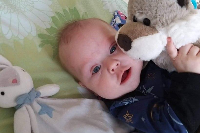 AITAME PISIPOISI HAIGLAST KOJU! Laps vajab hingamiseks aparaadi abi