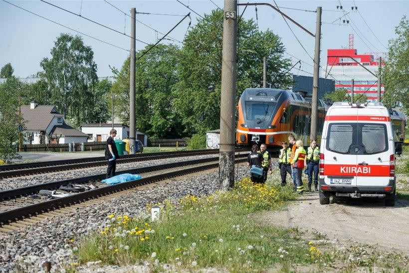 VIDEO | Vaata, mida näeb rongijuht Veerenni ülekäigul