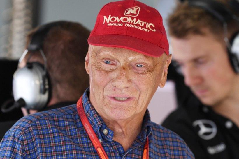 Suri legendaarne vormelisõitja Niki Lauda