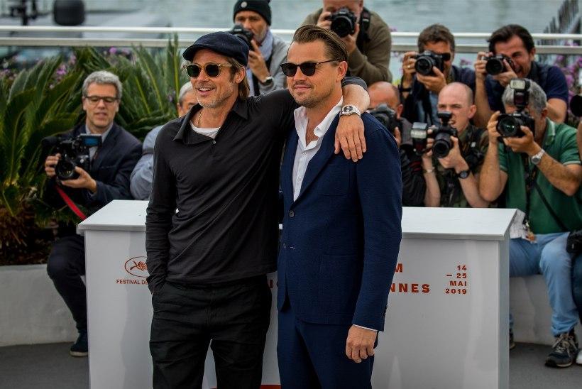 GALERII | ÕL CANNES'IS: Brad Pitt ja Leonardo DiCaprio varjusid pärast hommikuni kestnud pidu päikeseprillide taha