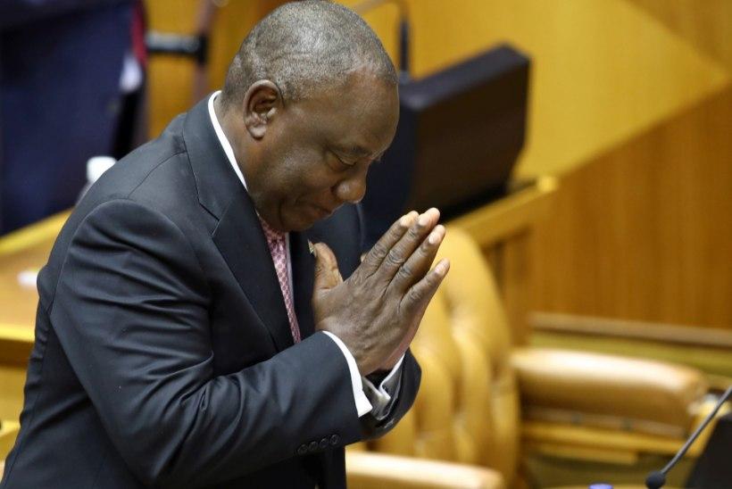 Ramaphosa sai uuesti LAVi presidendiks, seekord parlamendis