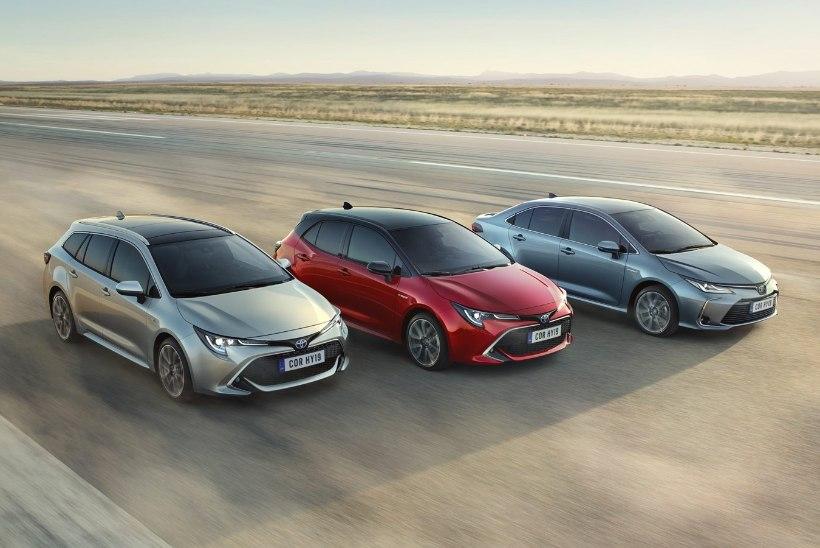 Uus Toyota Corolla sobib kõigeks ja kõigile