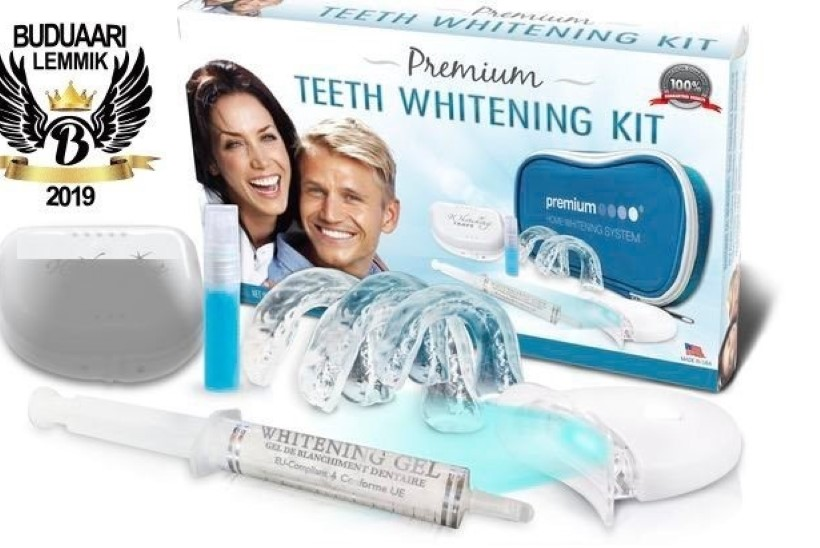 Buduaari värske ilulemmikuga hambad kaunilt valgeks!