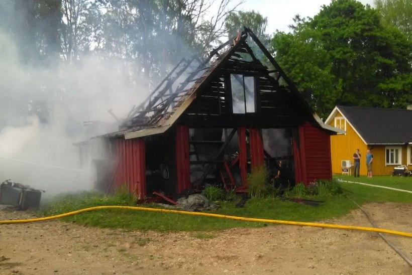 FOTOD | Pikselöögid süütasid Lõuna-Eestis mitu maja