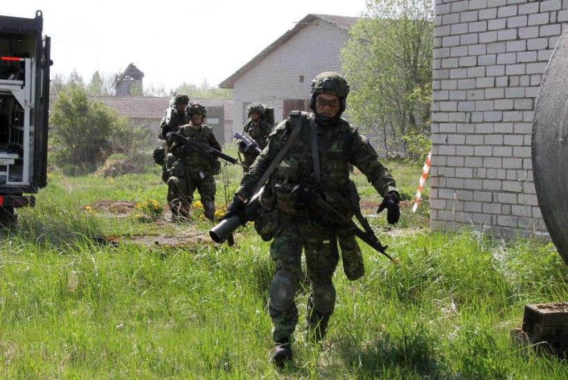 GALERII | Tartu kaitseliitlased lihvisid koos liitlastega linnalahinguoskusi