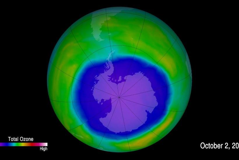 SÜÜDLANE LEITUD: osoonikihti hävitavat kemikaali paiskab atmosfääri Hiina