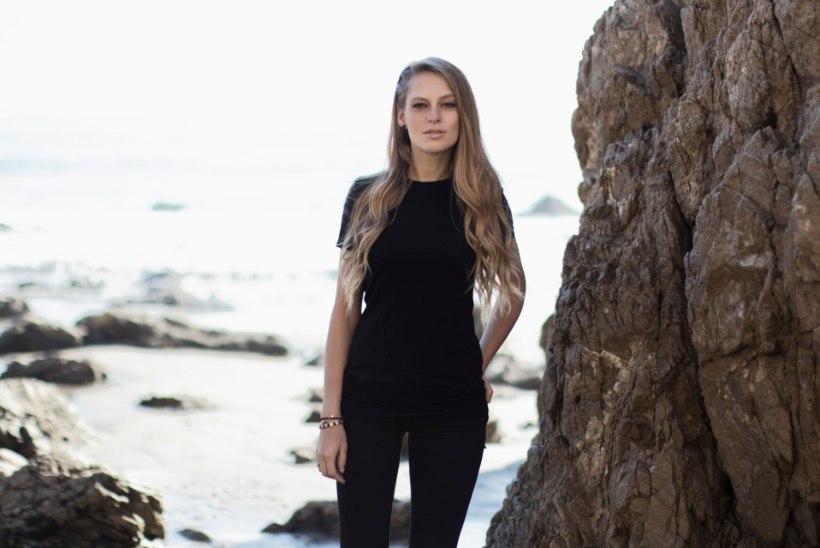 Ibiza staar paneb Pärnu rannas peo püsti