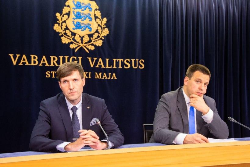 Eelarvearutelusid vedav Martin Helme: ükski minister pole tulnud jutuga, et tal on raha üle