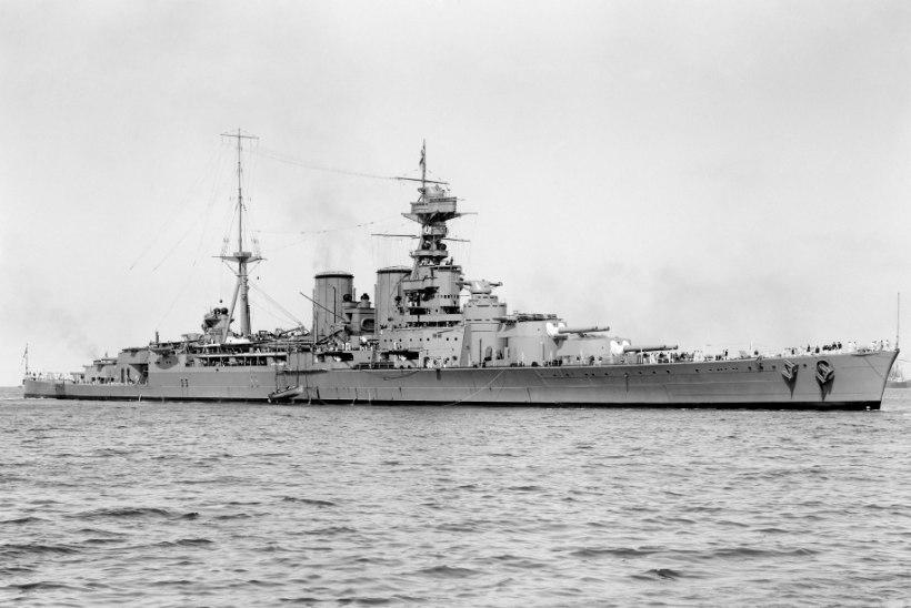 MINEVIKUHETK | 24. mai: Saksa sõjalaev Bismarck uputas brittide lahinguristleja HMS Hoodi