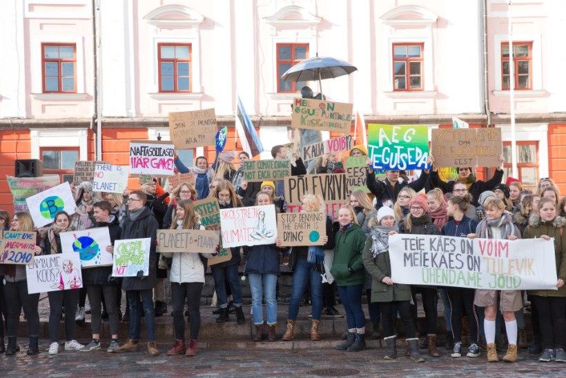 Martin Helme võrdles kliimastreikijaid noorte kommunistidega: koolides meeleavaldustele õhutamine on sigadus!