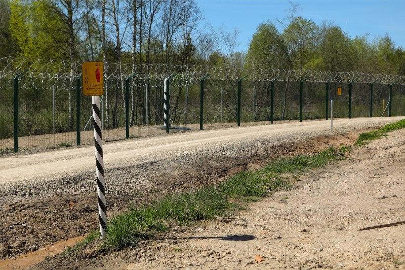 Politsei: kui idapiiri välja ei ehitata, püsib ebaseadusliku tegevuse oht