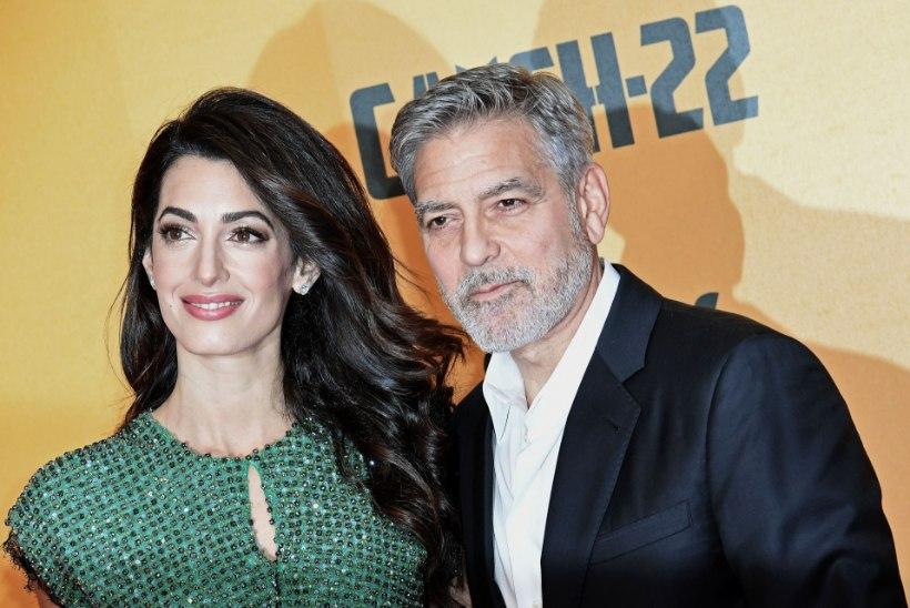 Clooney kardab, et ISIS võib tema lapsed tappa