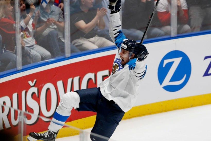 VIDEO | SUURÜLLATUS! Soome jäähokikoondis alistas MMi poolfinaalis Venemaa
