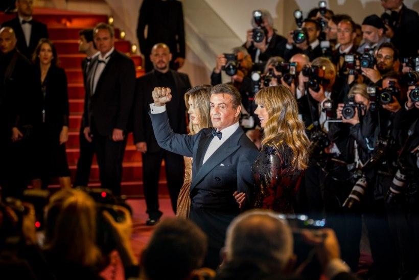 """GALERII   ÕL CANNES'IS: kauaoodatud hetk! Sylvester Stallone tutvustas maailmale uut """"Rambo"""" filmi"""