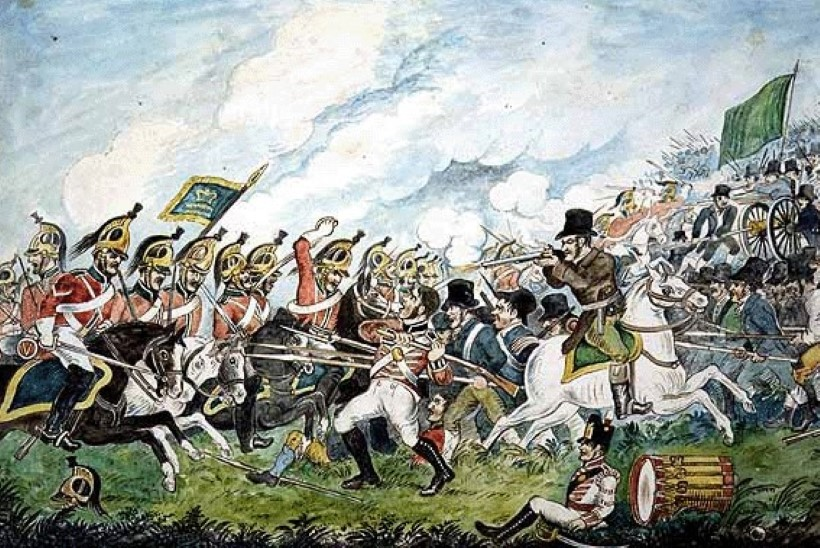 MINEVIKUHETK   26. mai: Iiri mässulised said Tara mäel brittidelt lüüa