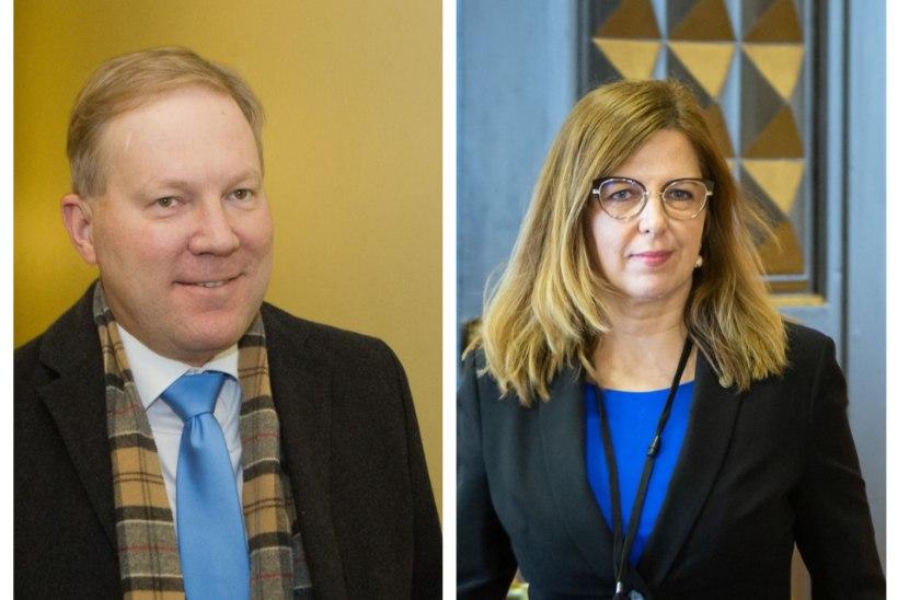 Kert Kingo ja Marko Mihkelsoni sõnasõda:  jutt sellest, et ministrit pole keegi kutsunud, ei päde