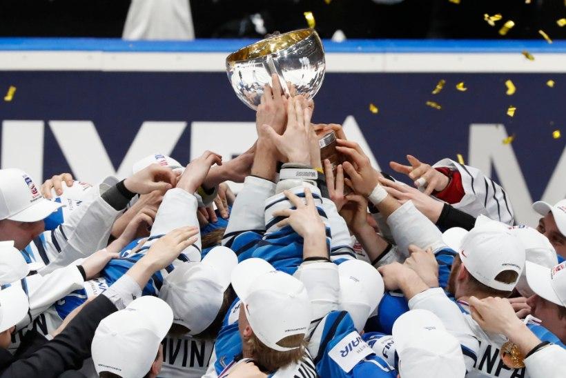 VIDEO | Vaimustav Soome hokikoondis murdis Kanada maha ja tuli maailmameistriks!