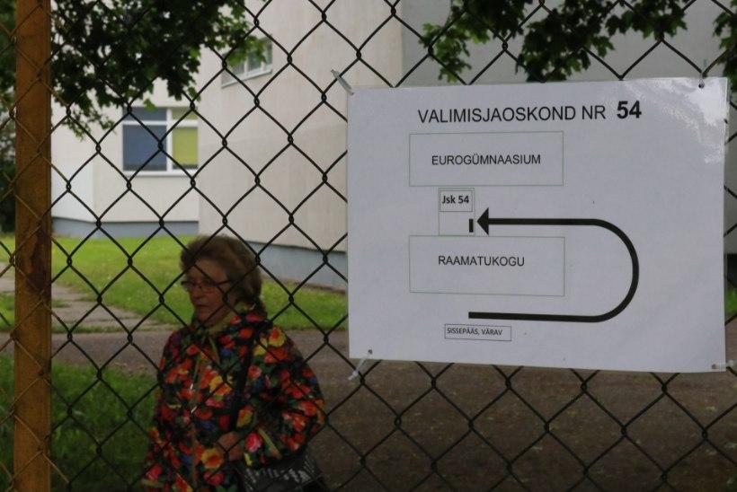 VALIMISHOMMIK MUSTAMÄEL: taarapunkt on jaoskonnast populaarsem