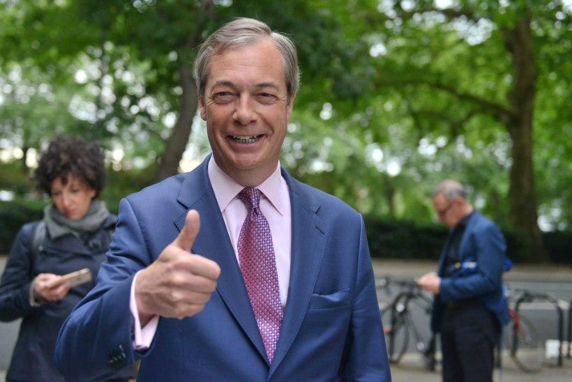 Nigel Farage kasutab Brexiti kirjeldamiseks uut terminit