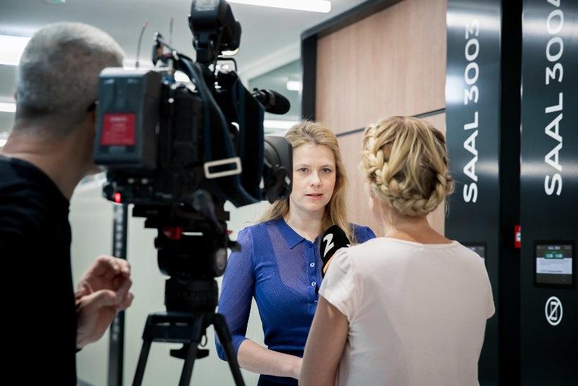 KAKS MILJONIT EUROT: Kuuuurijalt Katrin Lustilt nõuab ärimees Iraj Zand vaid poole summast