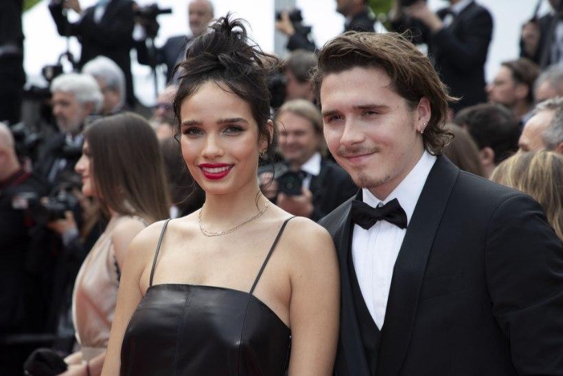 Beckhamite poeg ja tema pruut läksid Cannes'is kaklema